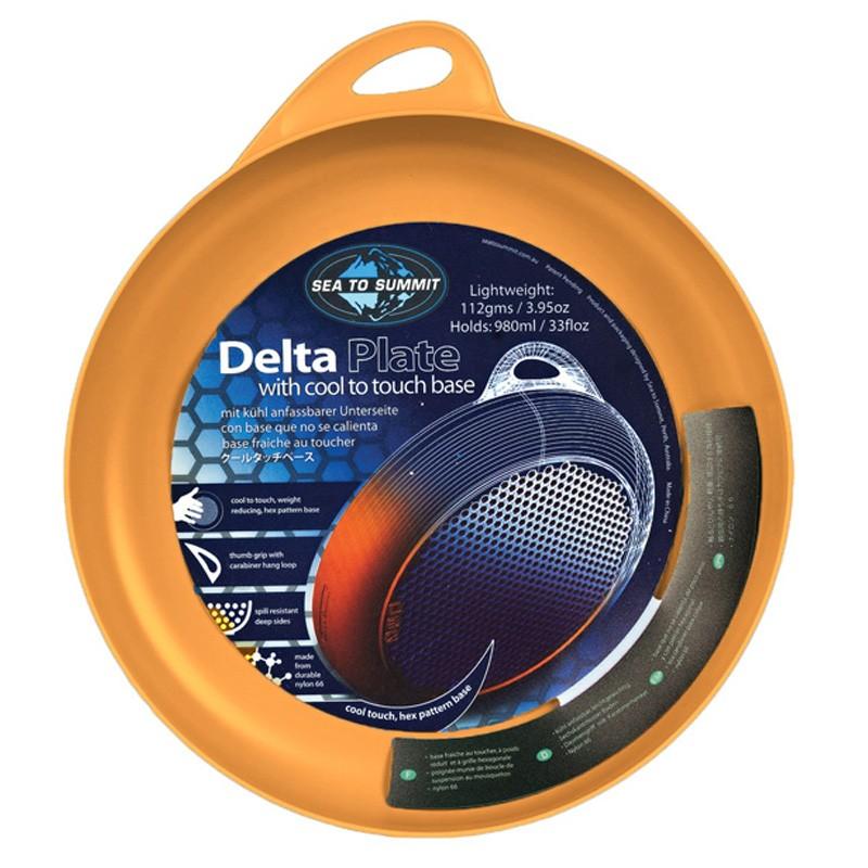 Sea-To-Summit-Delta-plate-orange miniature 5