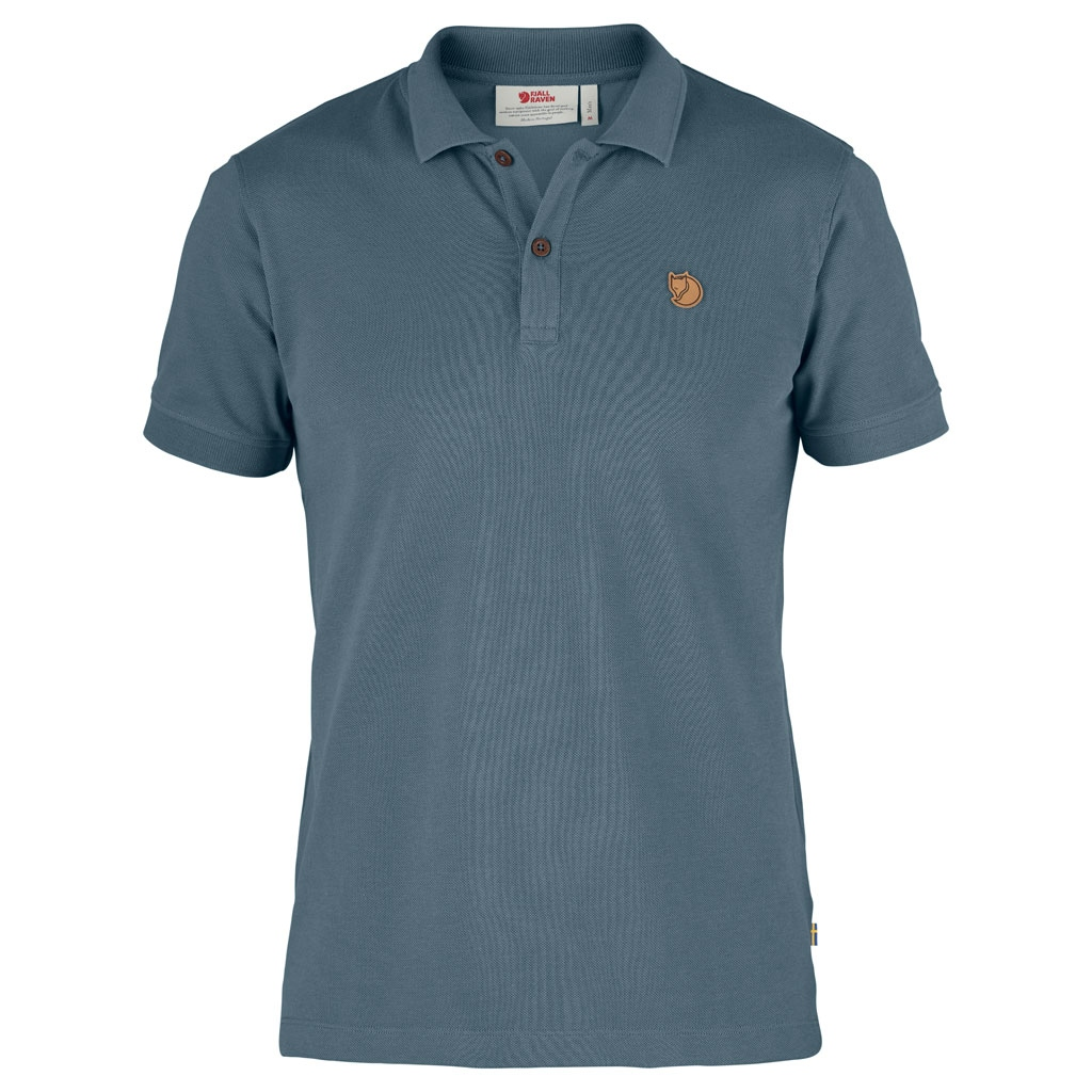 Fjällräven Övik Polo Pique Shirt SS 81511 flame orange Herren Polohemd Poloshirt